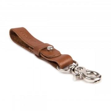 Rocko - Avainlenkki:  Rocko-avainlenkki on valmistettu kasvisparkitusta nahasta johon on painettu Sandqvist-logo, metallikoukku.
