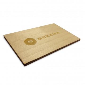 Presentkort:  Ett fysiskt presentkort till vår webbutik. Kortet är tillverkat av finsk björkplywood från lokalt hantverk i...