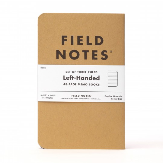 Kraft Left-Handed 3-Pack - Muistivihko