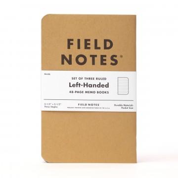 Kraft Left-Handed 3-Pack - Muistivihko:  10% maailman väestöstä on vasenkätisiä, joten oli korkea aika tehdä muistikirja heitä varten. Left-Handed on...