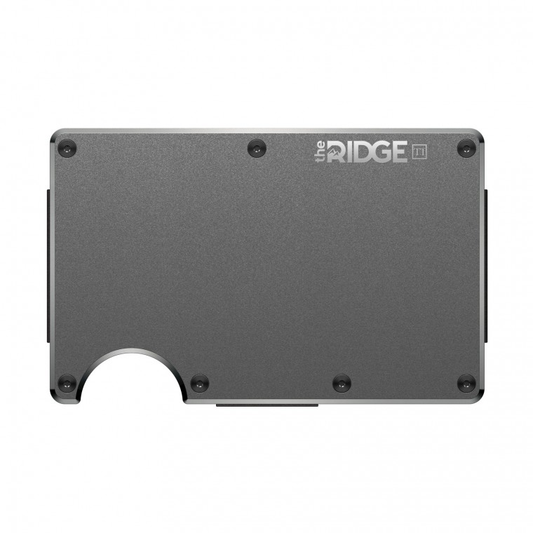 Ridge Titanium Wallet