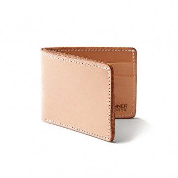 Utility Bifold Wallet:  Constructed from 100 g Horween Chromexcel leather, Utility Bifold blends traditional style with efficient design....
