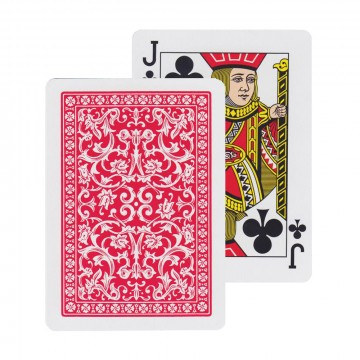 Fournier 505 Playing Cards:  This is the signature deck of the Spanish playing card company Fournier, Fournier 505. The cards feature an elegant...