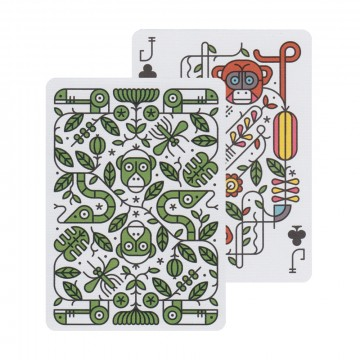 Jungle Deck Playing Cards:  The vibrant and colorful design of this deck is inspired by the jungles of Africa. Each custom illustrated card...