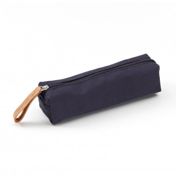 Pencil Pouch:  Pack the pens and other small items into the neat Pencil Pouch. Made from 100% cotton canvas with leather detailing.