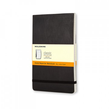Classic Reporter Pocket Notebook:  Classic Reporter notebook has a cover that flips open vertically, so you can take quick notes right on the spot. It...