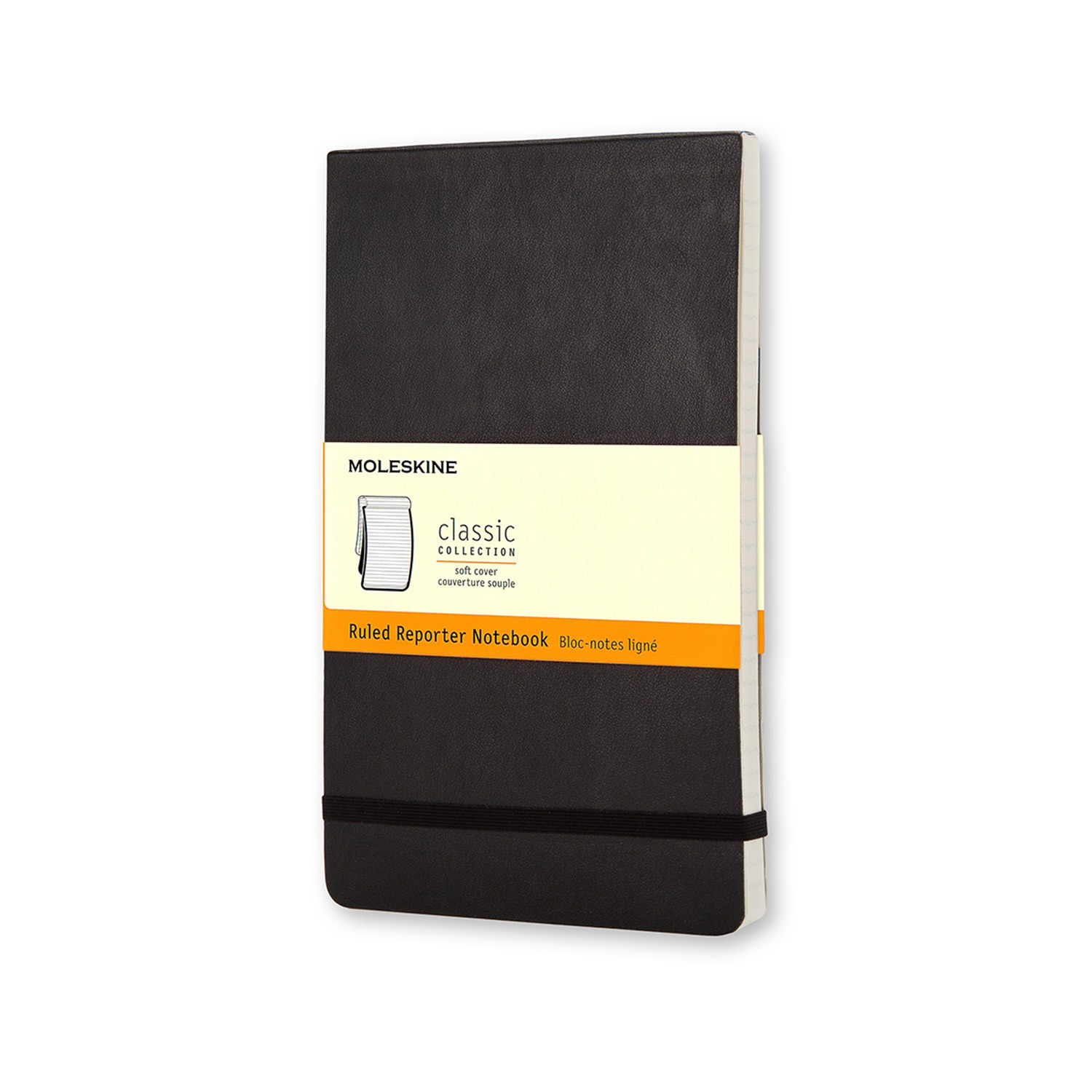 3 Moleskine Classic Collection Ruled Reporter Notebooks