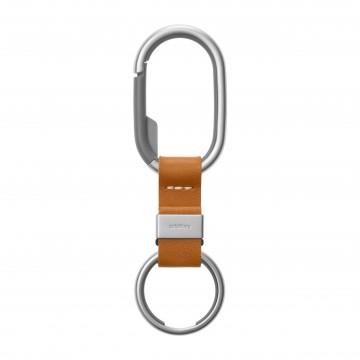 Clip - Avaimenperä:  Orbitkey Clip on suunniteltu pitämään avaimet lähellä mutta pois tieltä. Ruostumattomasta teräksestä valmistettu...