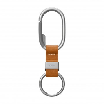 Clip:  Orbitkey Clip is designed to keep your keys close, but out of the way. The big gate opening in the stainless steel...