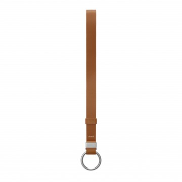 Strap:  An elegant carry strap, perfect to hang keys and other everyday items. Made from full-grain leather and features the...