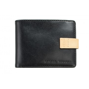 Josiah Wallet:  Josiah isn't afraid of busting a move or two when required. Compact size wallet with tan leather detailing. Three...