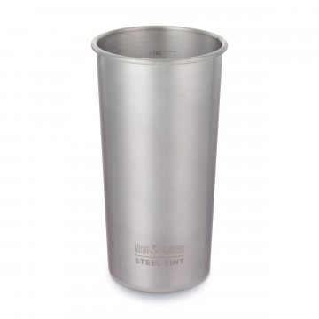 Steel Pint 592 ml:  592 ml Klean Kanteen Steel Pint Cup is made of  18/8, food-grade stainless steel, so it won't break like glass of...