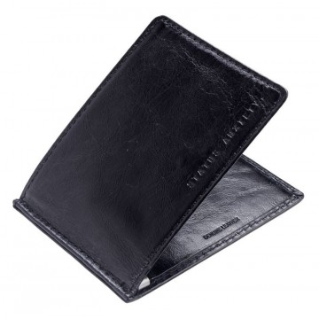 Perez Wallet:  This wallet is designed to be very slim. Made of premium raw italian cow hide. Perez wallet has a money clip and one...