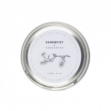 Tangent Leather Balm:  This leather balm works well with all Sandqvist leather products. All natural ingredients; wool wax and pine wood...