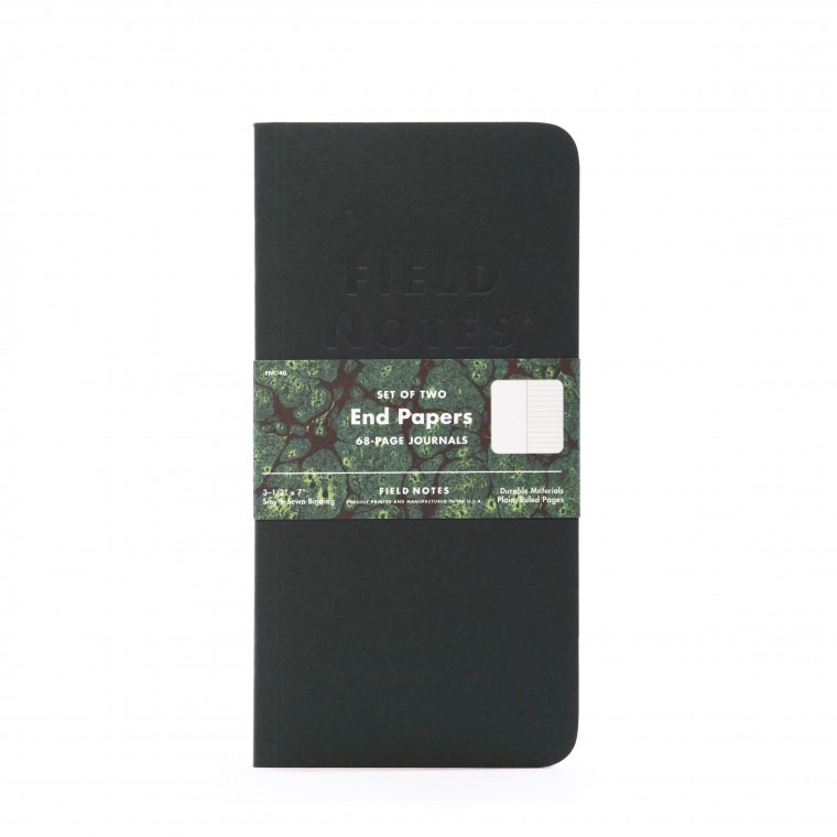 Field Notes End Papers 2-Pack Memo Book
