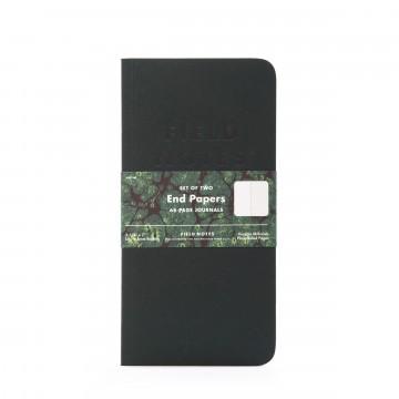 End Papers 2-Pack - Muistivihko:  End Papers -muistivihkoissa on yksinkertaiset, tukevat kannet ja ohut profiili. Vintage-tyylisesti marmorikuvioidut...