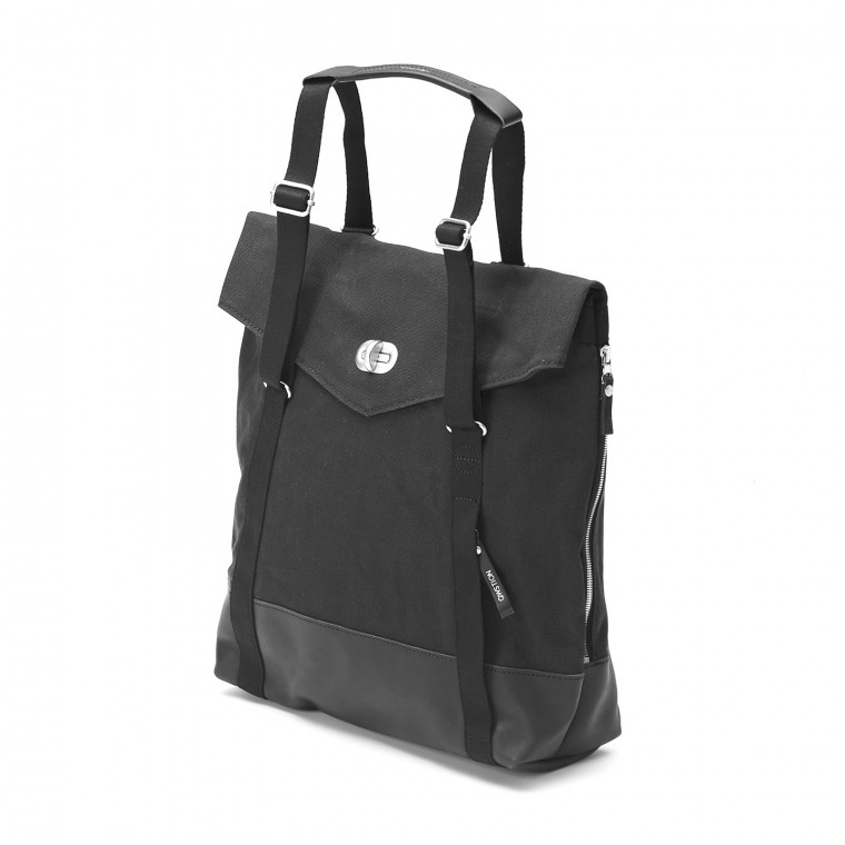 Qwstion Tote Leather