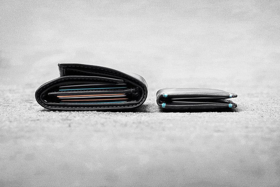 Ohut lompakko: 5 vinkkiä